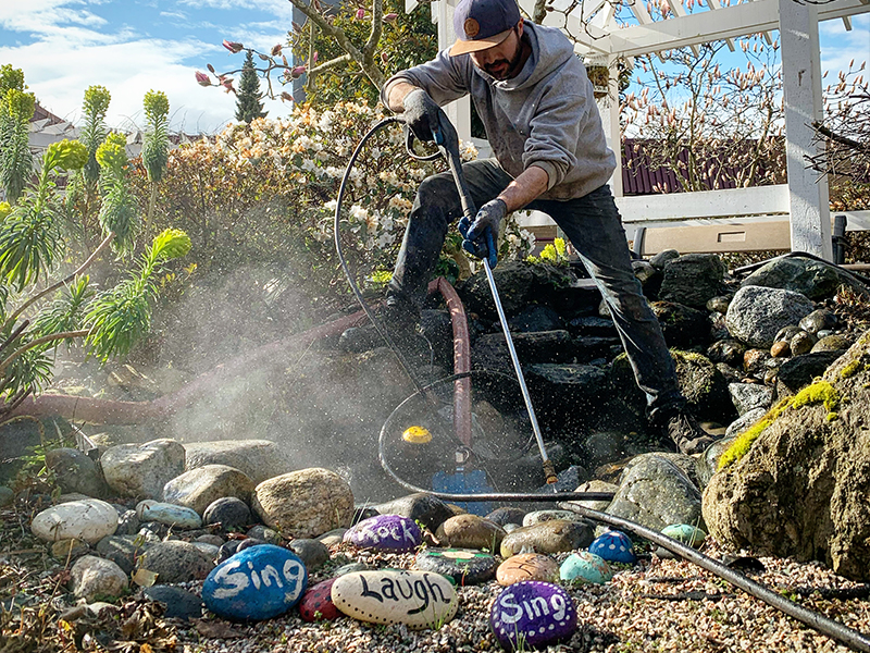Pond Cleaning Vancouver